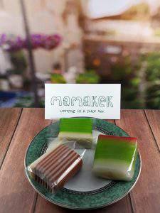 Pesan Snack Box - Kue Lapis Hijau dan Coklat