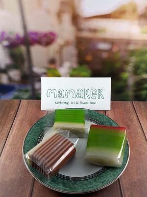 Pesan Snack Box - Kue Enak - Lapis Hijau dan Coklat