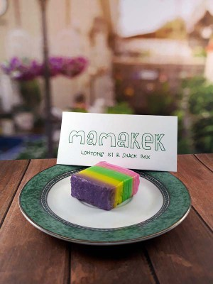 Pesan Snack Box - Kue Enak - Lapis Pelangi