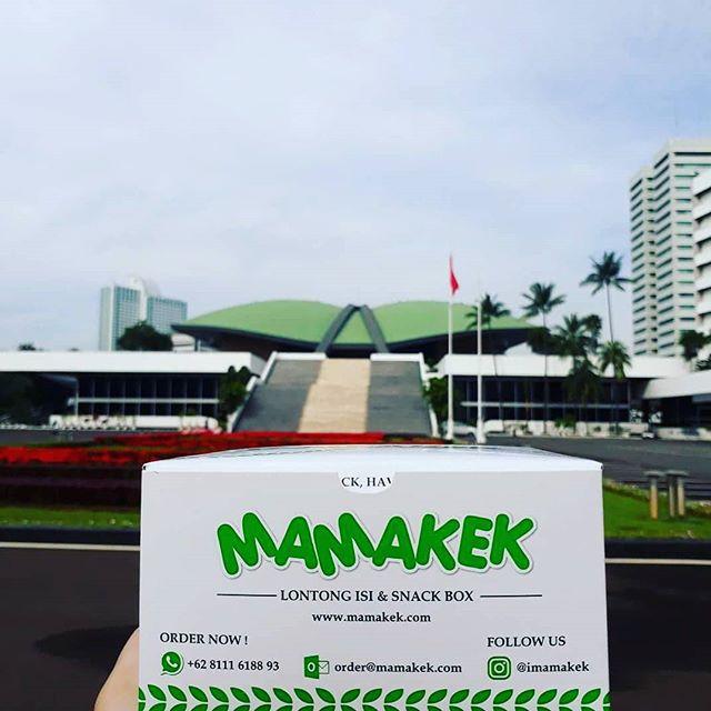 Snack Box MAMAKEK - Goes To MPR DPR RI Jakarta
